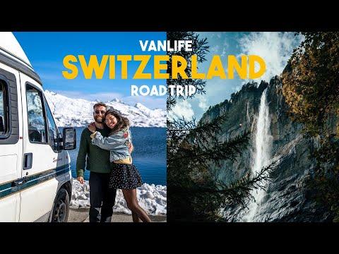 Van Life Switzerland | Aqua Lakes, Snowy Mountains & Epic Hikes | 1 week roadtrip