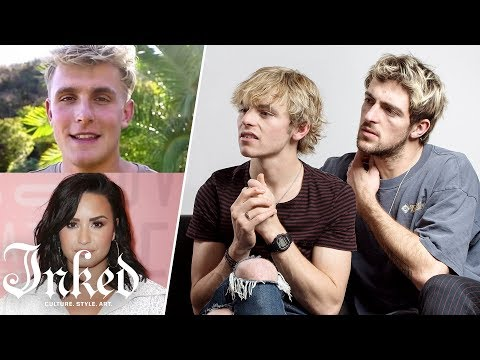 Rocky & Ross Lynch React to Ex-Disney Stars' Tattoos   INKED from YouTube · Duration:  6 minutes 45 seconds