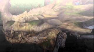 Monster Hunter Freedom Unite - Lao-Shan Lung!? (Shen Gaoren intro)