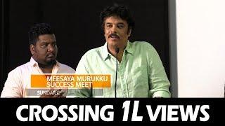 """My Wife Shouted At Me For Meesaya Murukku Dialogues"" Sundar C | Meesaya Muruku Success Meet"