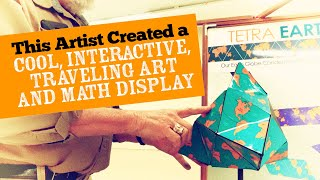 This Artist Created A Cool Interactive Traveling Art And Math Display