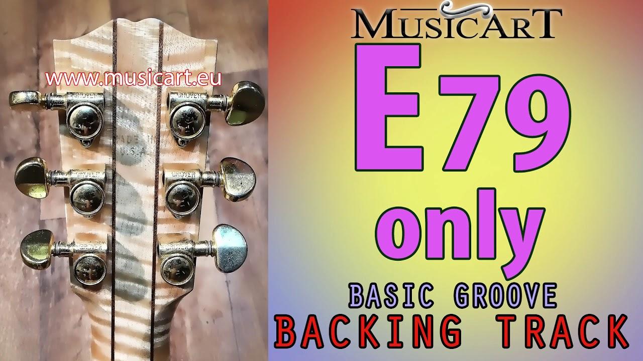 E79 Only Backing Track One Chord E79 E7 9 Youtube