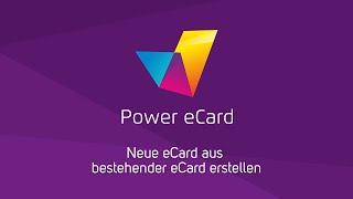 Neue Ecard Erstellen Mit Power Ecard