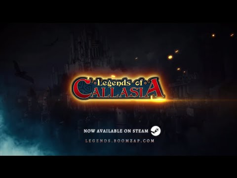 Legends of Callasia - Official Launch Trailer (PC/Mac)