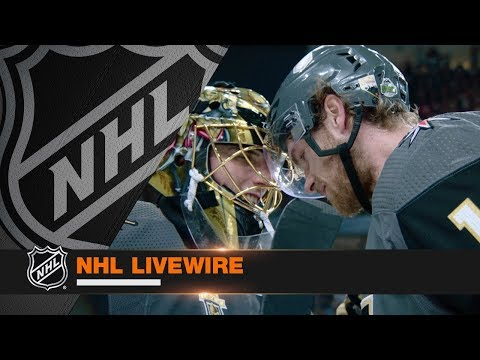 NHL LiveWire: Golden Knights, Sharks mic'd up for high energy Game 1