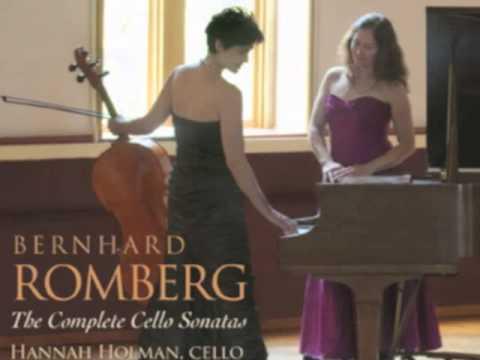 Romberg Cello Sonata E Minor Mvt 1 Allegro Non Troppo
