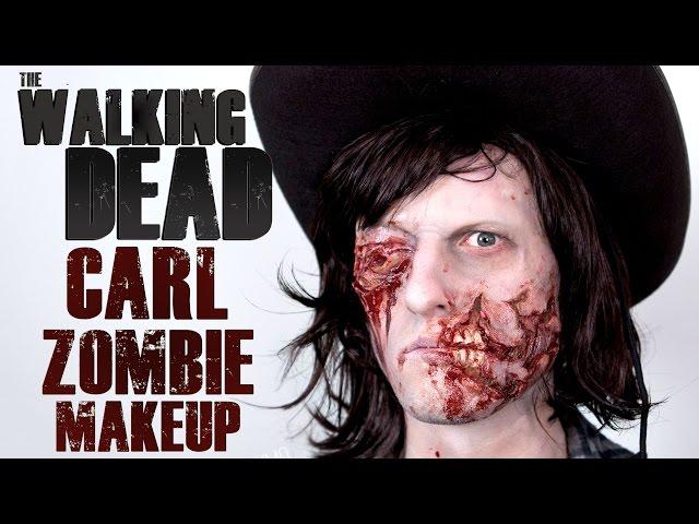 Cuts Wounds Walking Dead Zombie Halloween Costume Makeup Latex Prosthetic