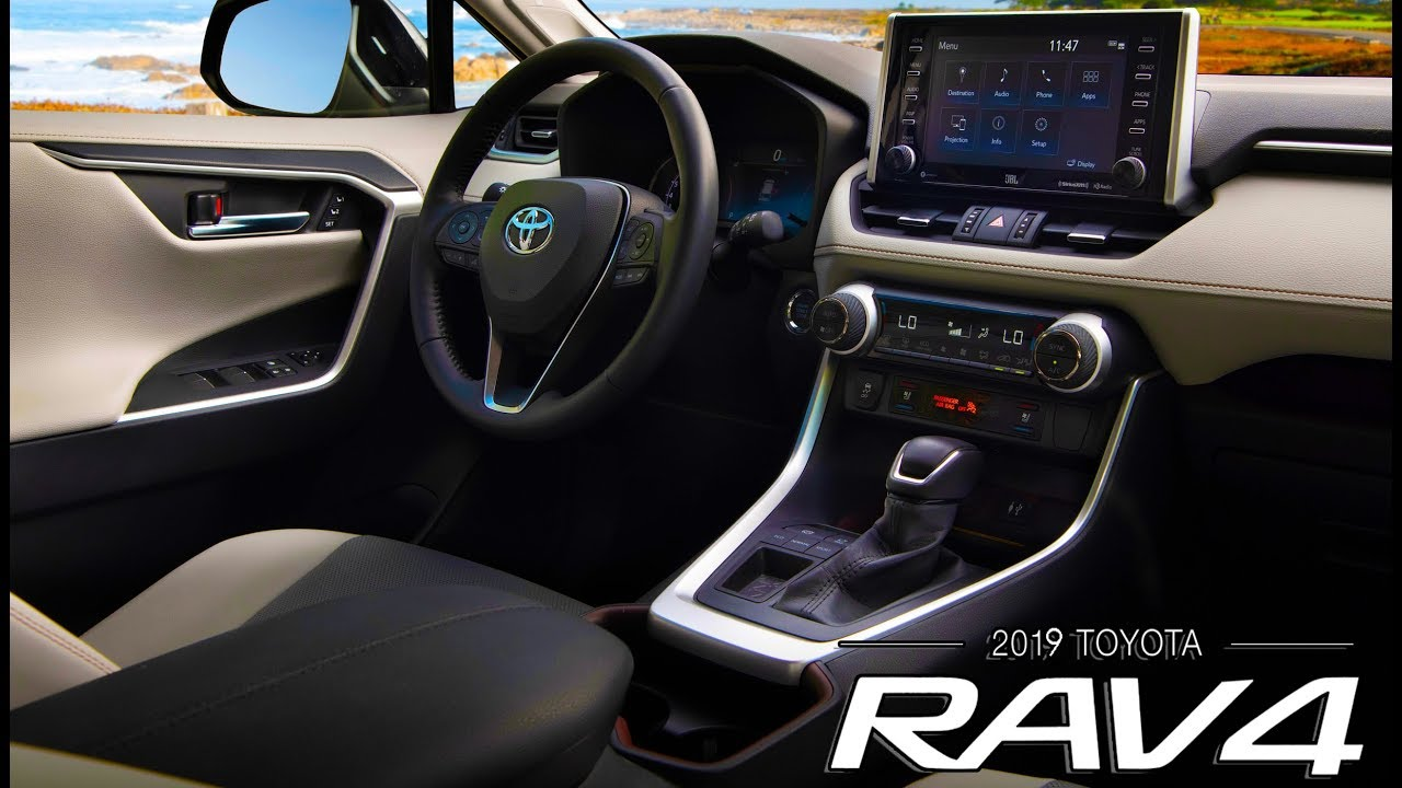 2019 Toyota Rav4 Interior Youtube
