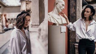 Backstage || Съёмка  в Пушкинском музее
