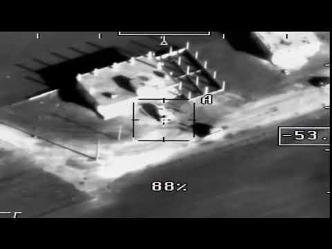 VIDEO 2 terrorists killed and destruction depot of terrorist drones factory in Idlib