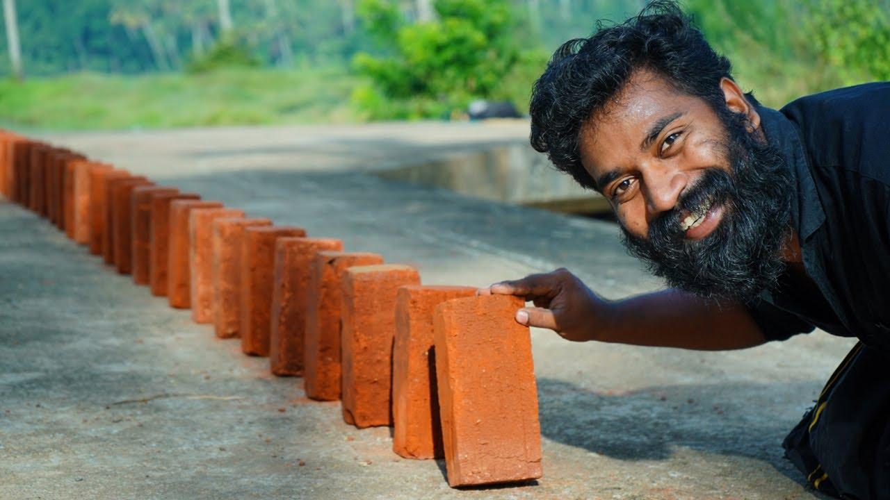 Domino Brick Experiment   M4 TECH  