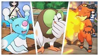 STARTER EVOLUTIONS REVEALED + BRAND NEW GAMEPLAY!! - Pokémon Sun and Moon
