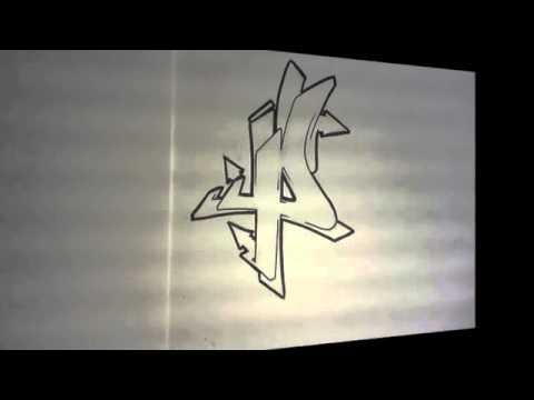Graffiti alphabet n 2 lettre par lettre wildstyle letters lettrage complexe www savevid com - Lettre graffiti alphabet ...