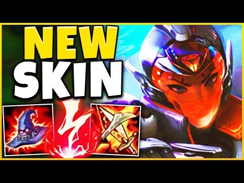 *RIOT'S BEST SKIN* PROJECT AKALI IS ABSOLUTELY INSANE! (1V9 CARRY) - League of Legends
