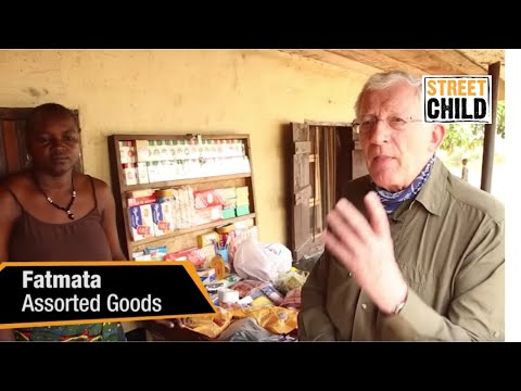 Nick Hewer visits family businesses in Sierra Leone with Street Child charity