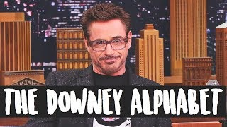 Learn The Alphabet with Robert Downey Jr's Movies