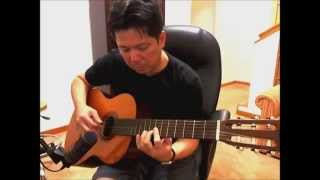 ANGELINA (NAKED GUITAR version) by EARL KLUGH - Guitar Cover