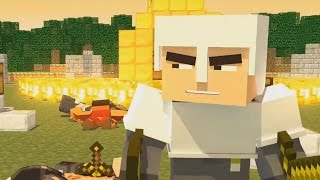 "Minecraft Song and Minecraft Animation ""Survival Minecraft"" Minecraft Song by Minecraft Jams"