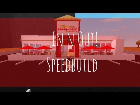 In Out Burger V3 Roblox Welcome To Bloxburg In N Out Youtube