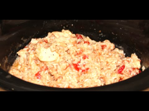 How to cook chicken breast and rice in slow cooker