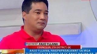 NTG: Anjo Yllana, naiproklamang konsehal ng 5th district ng QC