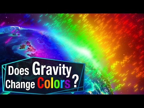 Does Gravity Change Colors?
