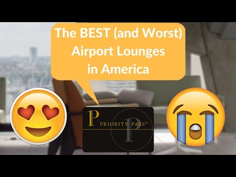 Ranking the best (and worst) Priority Pass airport lounges in the United States
