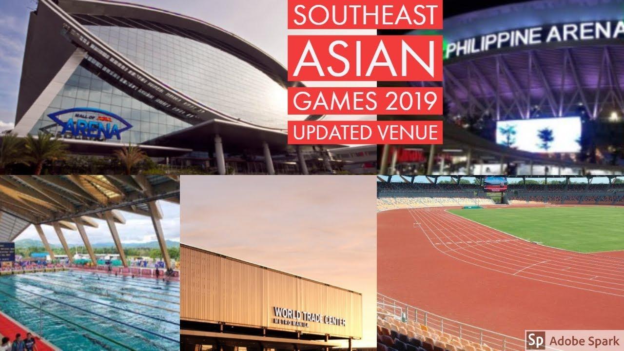 2019 Sea Games Venue Complete List Update Youtube