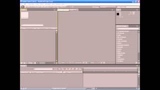 ✅Урок 1  Adobe After Effects CS4 - Основные элементы интерфейса