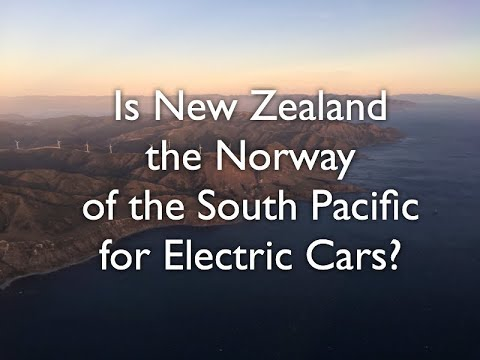 Is New Zealand the Norway of the South Pacific for Electric Cars?