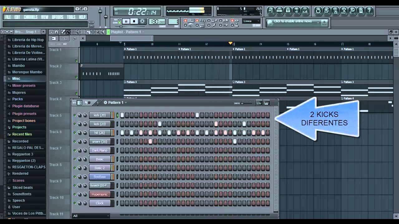 tutorial para hacer drums caja de ritmos hip hop rap 2013 2014 nuevoo fl studio youtube. Black Bedroom Furniture Sets. Home Design Ideas