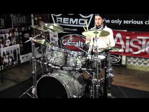 Greenbrier Percussion - Ludwig Mint Oyster Keystone Drum Kit Demo