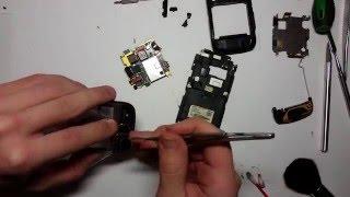 Ремонт ушатанного Samsung GT-S8000 Заміна тачскріна