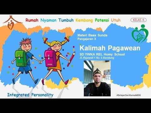 Kalimah Pagawean | Bahasa Sunda Kelas 6
