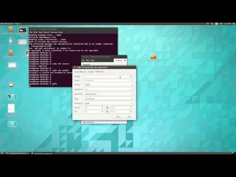 Installing GUFW a GUI for UFW on Ubuntu