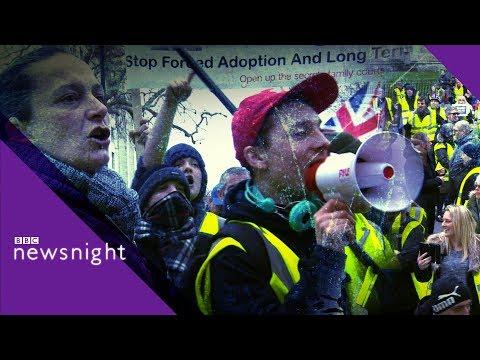 Britain's yellow-vest activists - BBC Newsnight