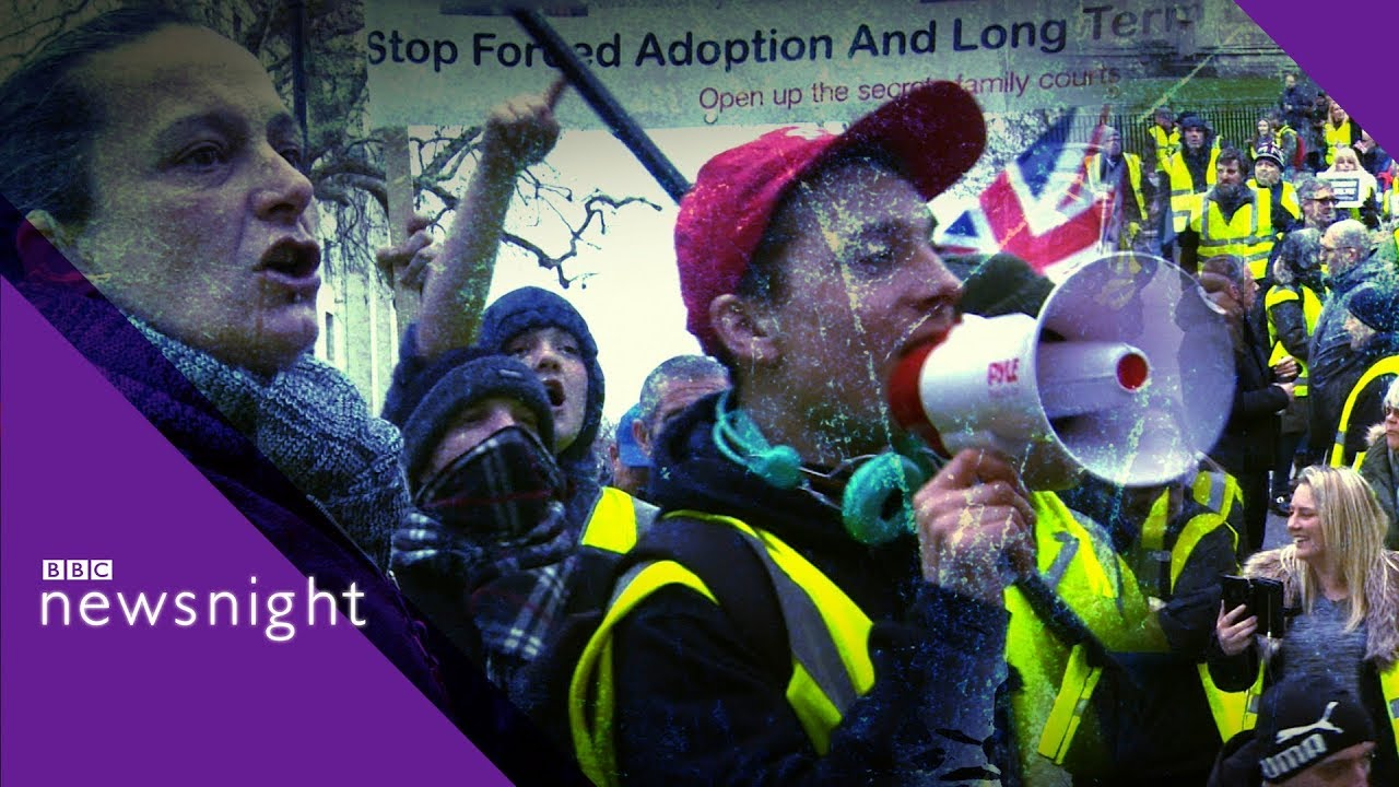 Britain's yellow-vest activists - BBC Newsnight