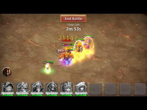 Castle Clash ~ Boss 5 (Centaur & Goblin)