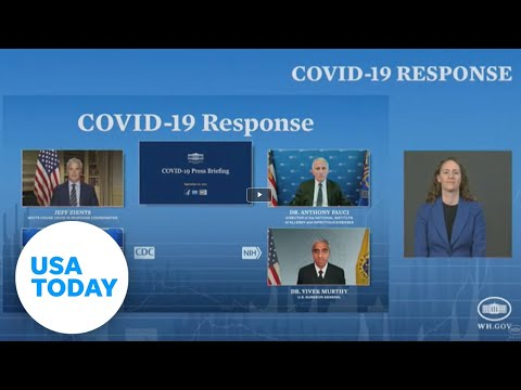 White House COVID-19 Response Team hold a press briefing | USA TODAY