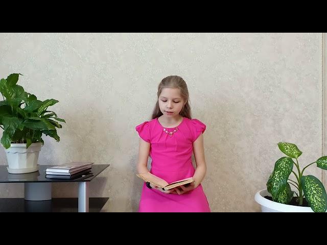 Изображение предпросмотра прочтения – ЕкатеринаМакарова читает произведение «Воздух прозрачный и синий...» С.А.Есенина