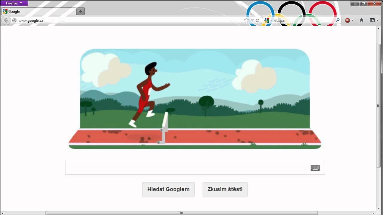 London 2012 Hurdles Google Doodle 3 Stars Youtube