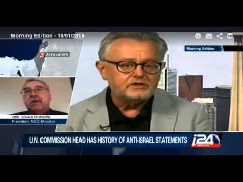 Prof. Gerald Steinberg, i24 TV, Shabas Commission Interview, January 15, 2015