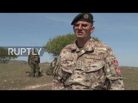 Romania: Platinum Eagle 17.2 drills underway at Babadag training area