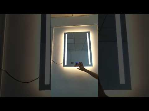 UL ETL Hotel Bathroom Vanity Backlit LED Lighted Mirror