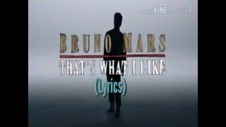 Gambar cover Bruno Mars - That's What I Like (LYRICS)