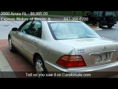 Acura RL RL For Sale In Arlington Heights IL YouTube - 2000 acura rl for sale