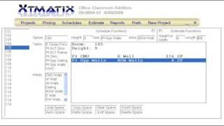Xtmatix Estimating Demo 1
