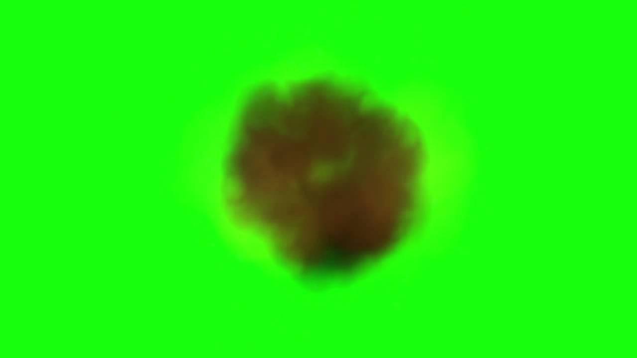 Green Screen Explosion Effect