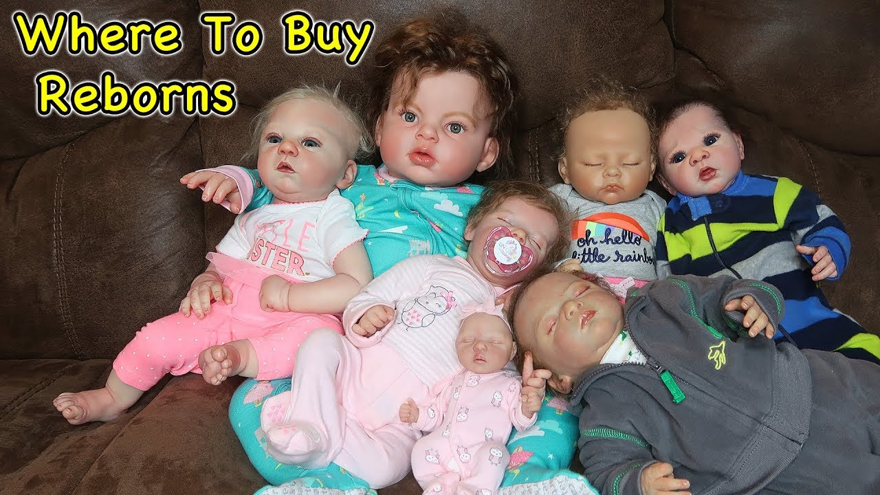 Where To Buy Reborn Baby Dolls For Cheap And Not So Cheap Youtube