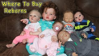 Обложка на видео о Where to Buy Reborn Baby Dolls for Cheap and Not So Cheap